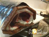 Приготовление рулета из шоколадного суфле: шаг 16