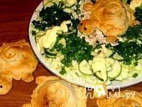 Приготовление слоек овощных Черепашки: шаг 4