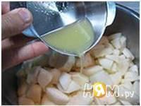 Приготовление варенья из груш: шаг 6