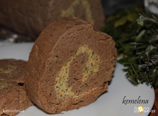Печеночный паштет с травами