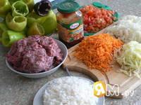 Приготовление фаршированого перца: шаг 1