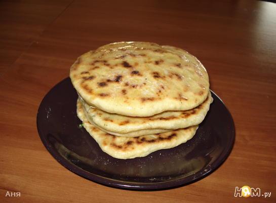 """Лепешки """"Хачапури"""""""