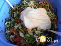 Приготовление салата Витаминного: шаг 2
