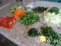Приготовление салата Витаминного: шаг 1