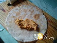 Приготовление блинчики с мясом: шаг 4