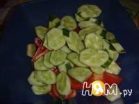 Приготовление армянского салата: шаг 2