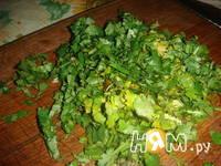 Приготовление армянского салата: шаг 6