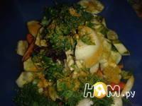 Приготовление армянского салата: шаг 7