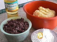 Приготовление картофельников с начинкой: шаг 1