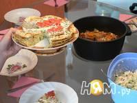 Приготовление торта кабочкового: шаг 4
