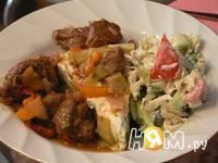 Приготовление телятины с овощами: шаг 4