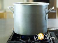 Приготовление спагетти с курицей: шаг 1