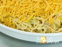 Приготовление спагетти с курицей: шаг 8