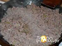 Приготовление блинчиков с мясом: шаг 2