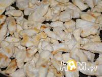 Приготовление куриного филе с овощами в соусе: шаг 6