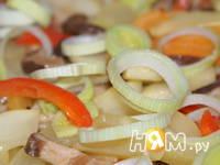 Приготовление куриного филе с овощами в соусе: шаг 11