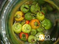 Приготовление маринованного болгарского перца: шаг 2