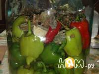 Приготовление маринованного болгарского перца: шаг 3