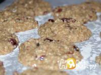 Приготовление овсяного печенья с клюквой: шаг 4