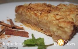 Насыпной яблочный пирог (вариант 1)