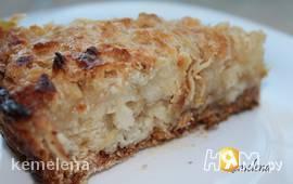 Насыпной яблочный пирог (вариант 2)