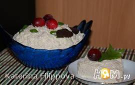 Салат с тунцом и пармезаном
