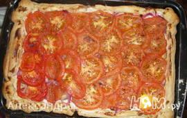 Пирог с томатами