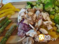 Приготовление фриттаты: шаг 1