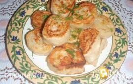 Рулеты с картофелем и грибами