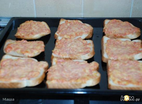 Бутерброды горячие