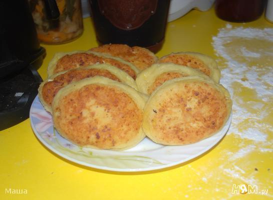Пирожки творожные