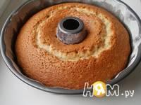 Приготовление кекса-бисквита на йогурте: шаг 3