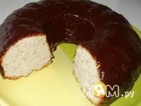 Приготовление кекса-бисквита на йогурте: шаг 6