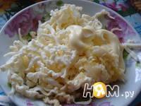 Приготовление салата Малахитовая шкатулка: шаг 8
