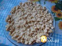 Приготовление салата Малахитовая шкатулка: шаг 9