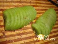 Приготовление салата Малахитовая шкатулка: шаг 15