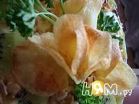 Приготовление салата Малахитовая шкатулка: шаг 16