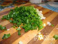 Приготовление салата Малахитовая шкатулка: шаг 5