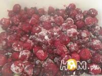 Приготовление вишнёво-черничного пудинга: шаг 5