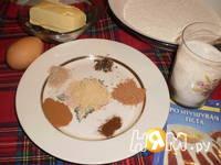 Приготовление имбирного печенья: шаг 1