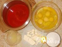 Приготовление клубничного курда: шаг 1