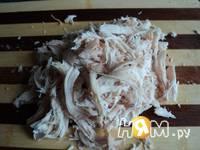 Приготовление корзинки с салатом: шаг 8