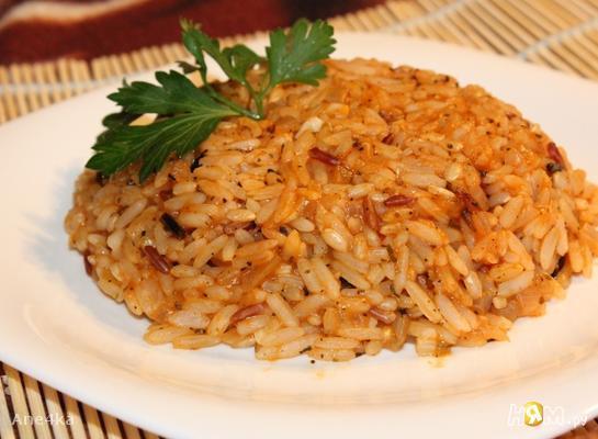 Ароматный красный рис