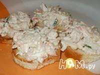 Приготовление бутербродной массы с тунцом: шаг 3