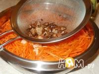 Приготовление моркови по-корейски: шаг 2