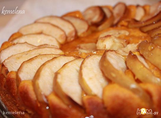 Рецепт Тыквенный пирог с яблоками