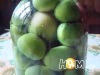 Приготовление маринованных зеленых помидор: шаг 1