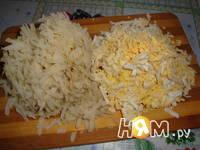 Приготовление салата Пенек: шаг 1