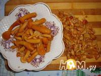 Приготовление салата Пенек: шаг 3