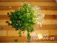 Приготовление салата Пенек: шаг 4